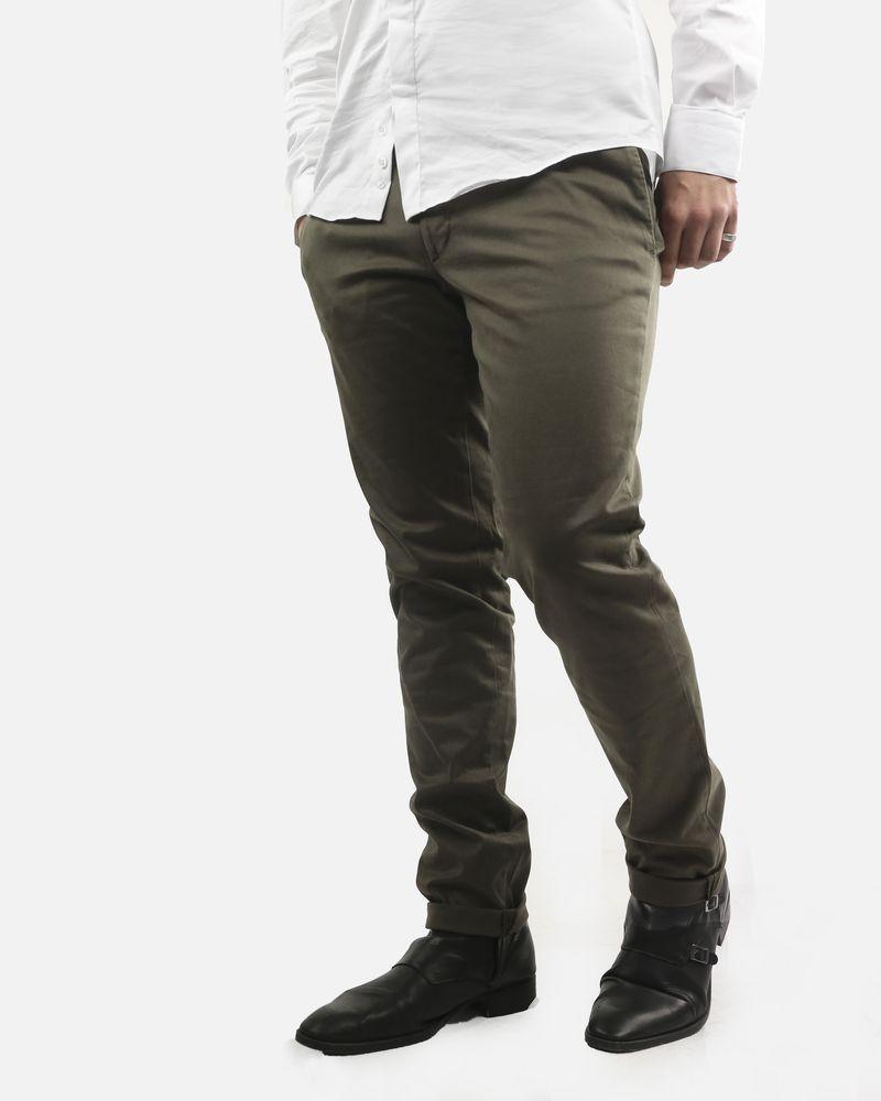 Pantalon chino kaki Luca Capri