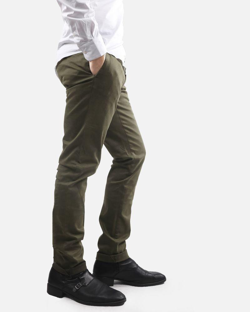 Pantalon kaki Luca Capri