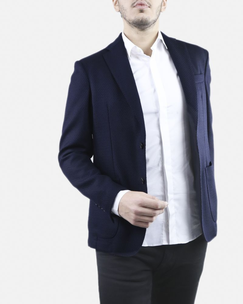 Veste bleue Luca Capri