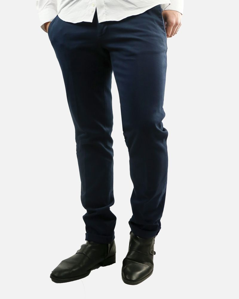Pantalon bleu nuit Roda