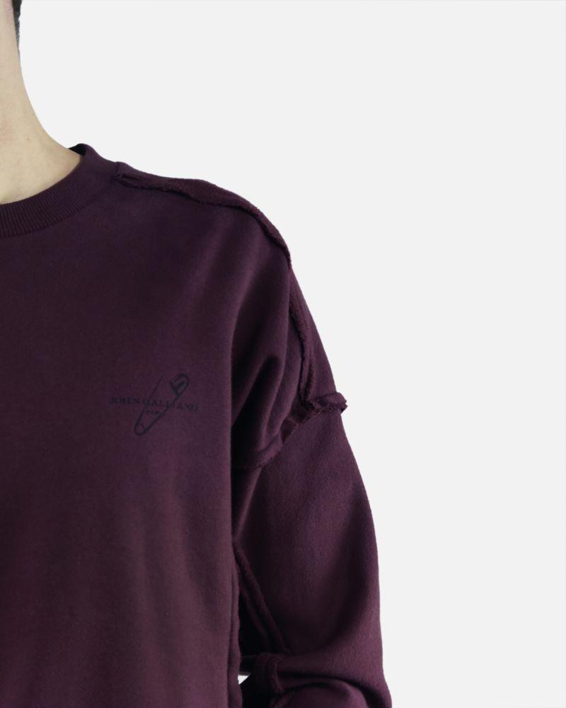 Sweat violet John Galliano