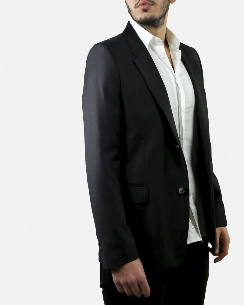 Veste de costume grise en laine Melinda Gloss