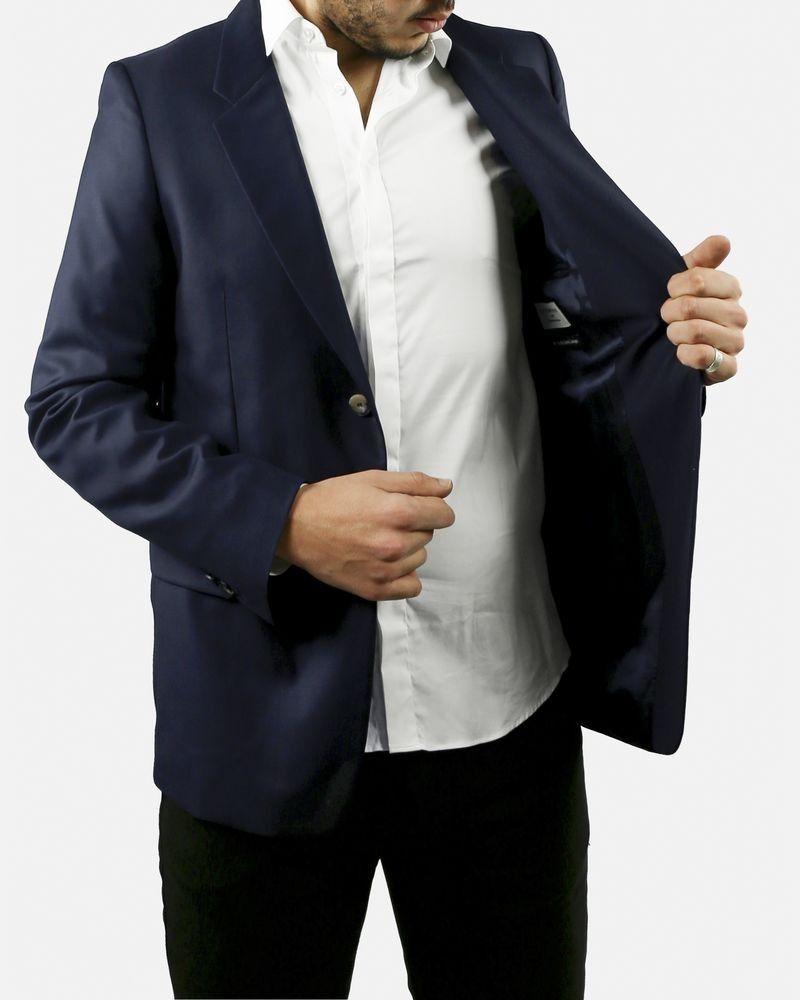 Veste de costume bleue Melinda Gloss