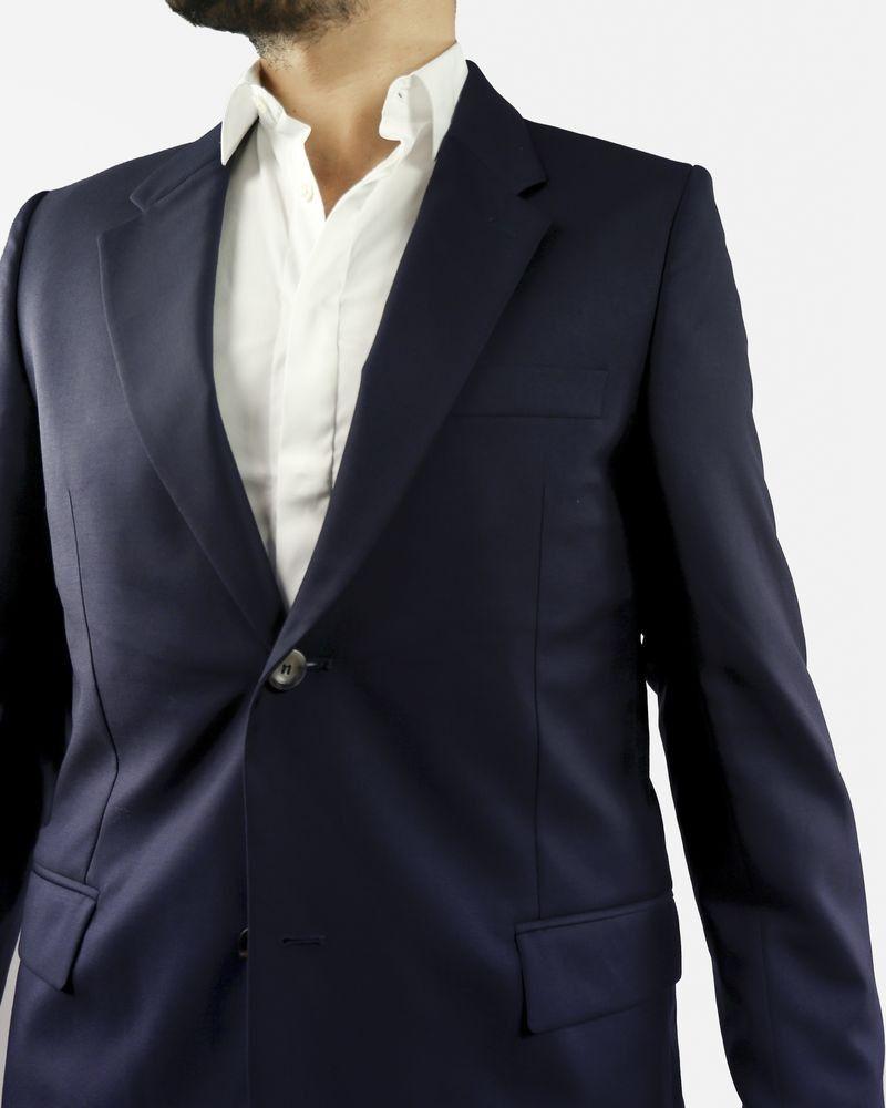 Veste de costume bleue en laine Melinda Gloss