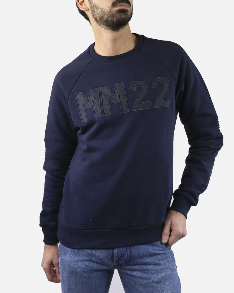 """Sweat bleu """"MM22"""" Department 5"""