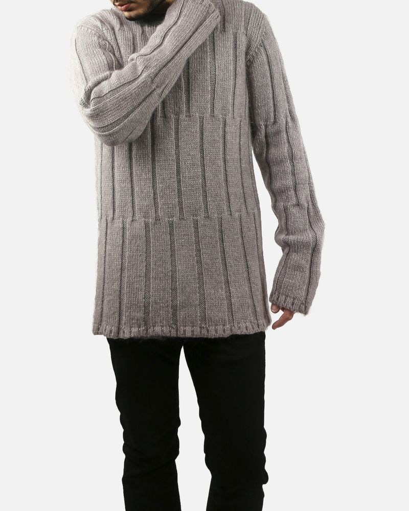 Pull taupe oversize Lost & Found