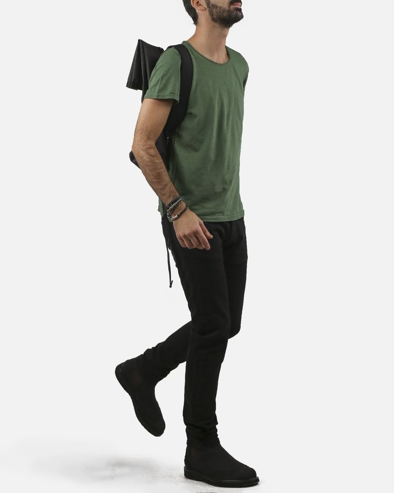 T-shirt vert olive Fred Melo
