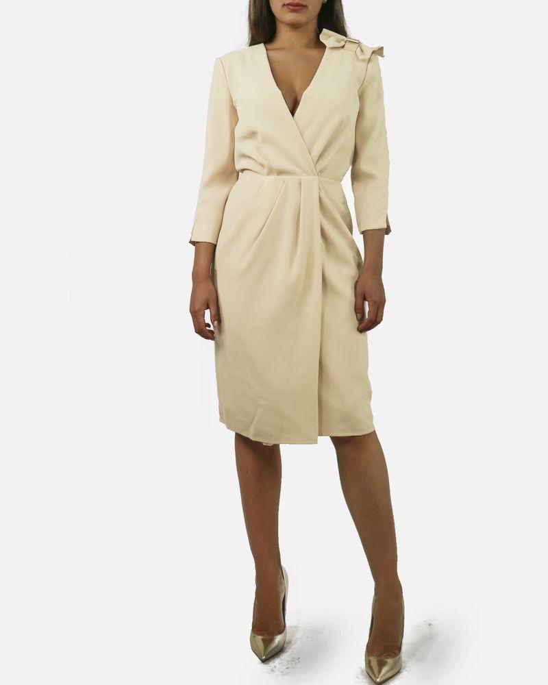Robe beige élégante Elisabetta Franchi