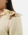 Robe beige Elisabetta Franchi