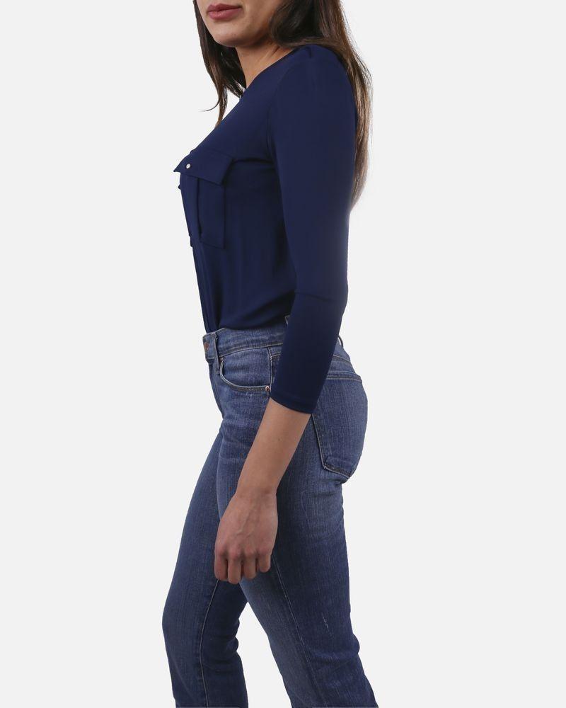 Body bleu Elisabetta Franchi