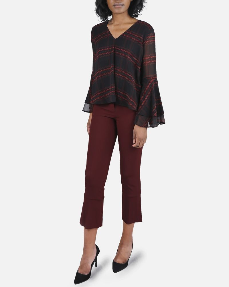 Pantalon bordeaux Space