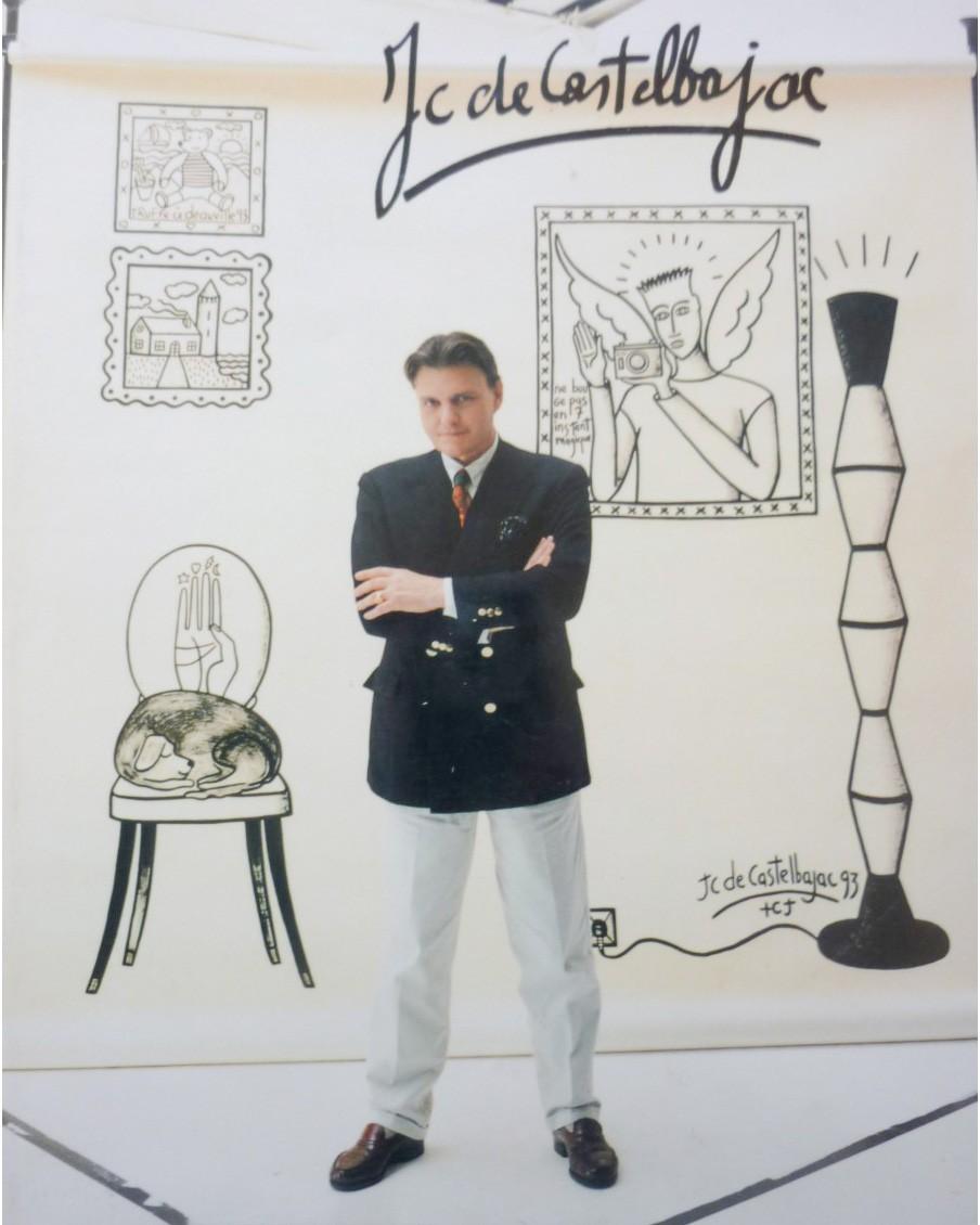 Livre J-C De Castelbajac édition Michel Aveline