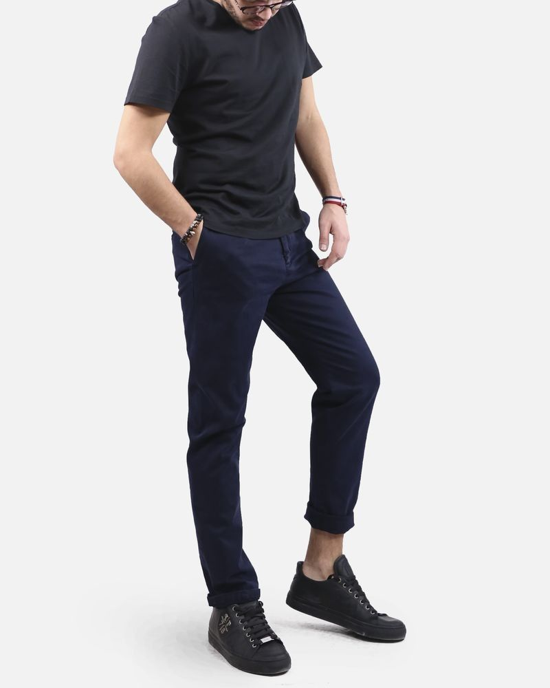 Pantalon bleu Low Brand