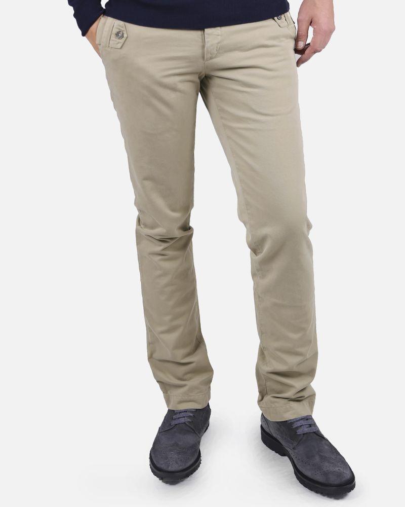 Pantalon beige Marchand Drapier