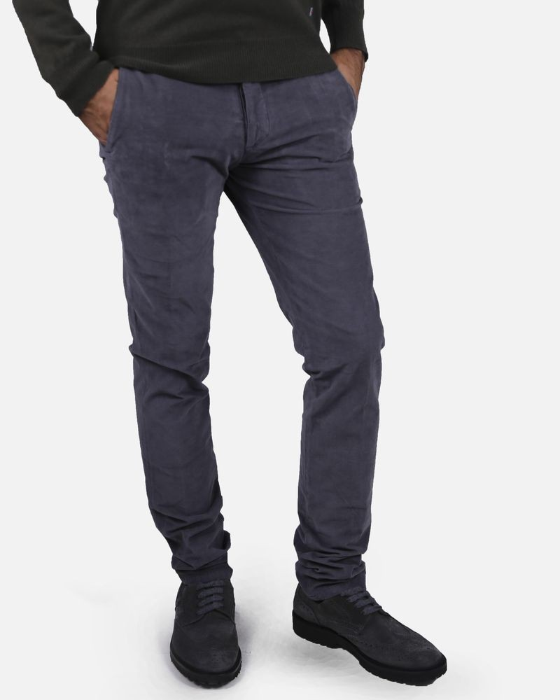 Pantalon gris foncé Marchand Drapier