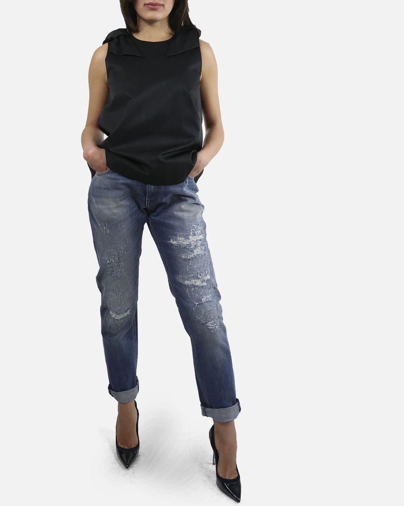 Jean bleu effet usé Dolce & Gabbana