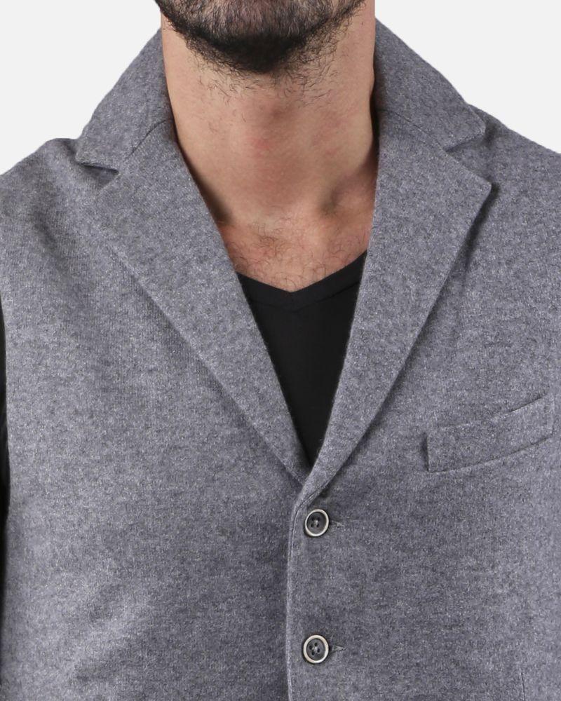 Gilet élégant gris sans manches Panicale