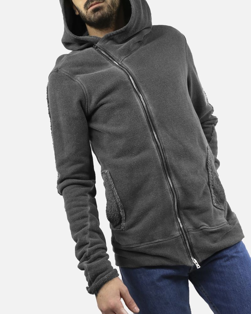 Gilet gris oversize Lost & Found