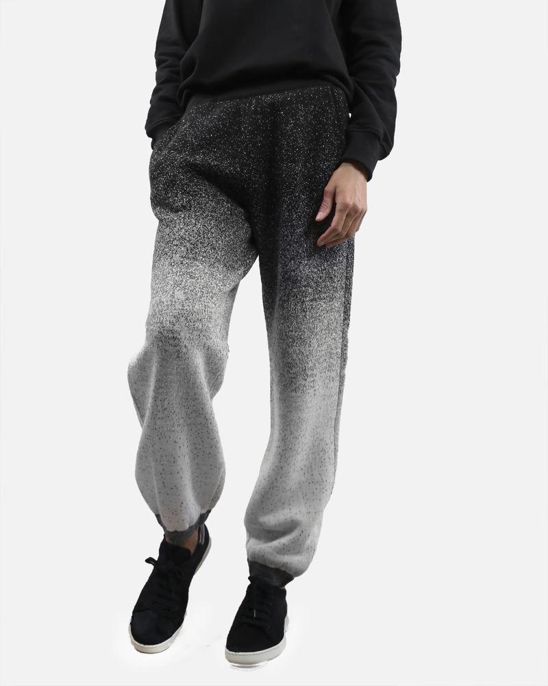 Pantalon de jogging noir Stefano Mortari