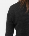 Pull long noir col rond Lost & Found