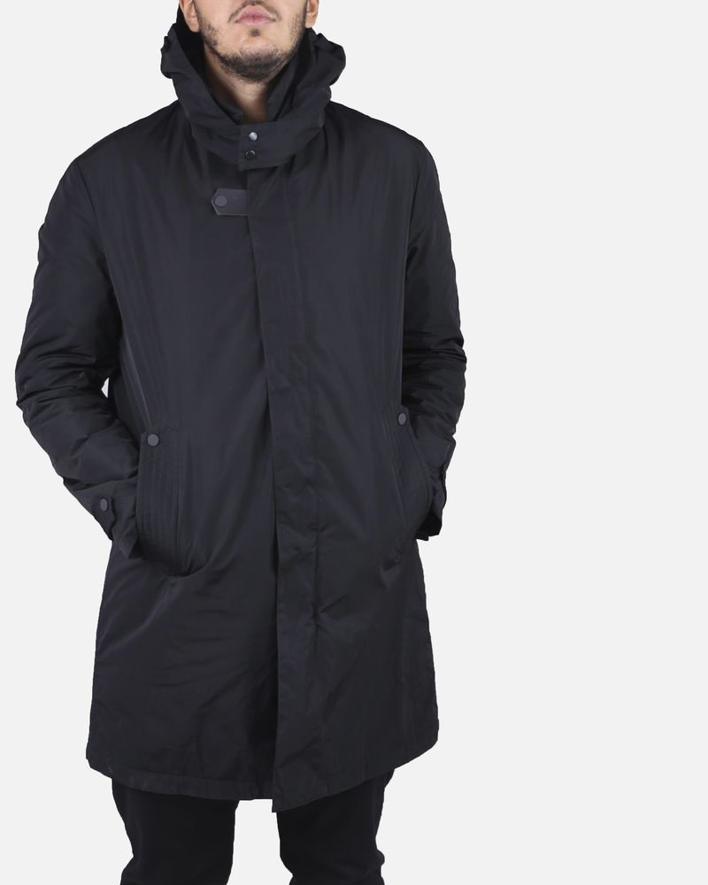 Trench noir Low Brand