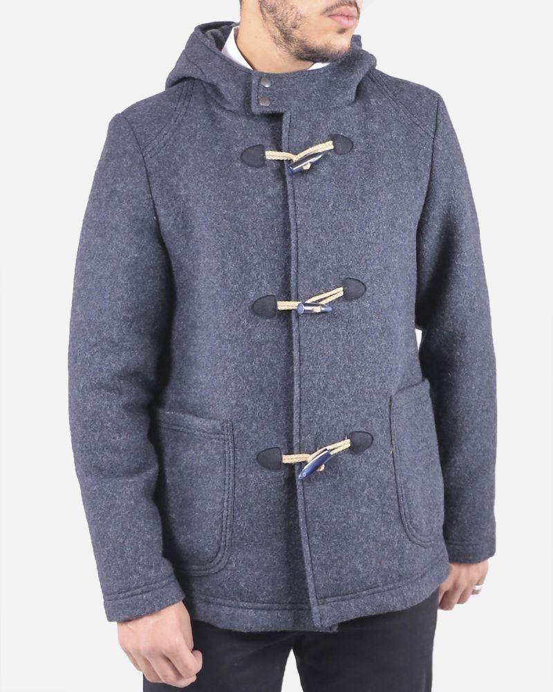 Duffle coat gris Reporter