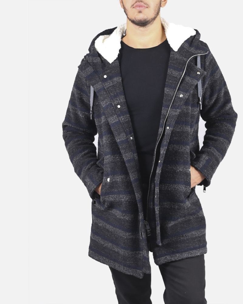 Duffle coat gris Low Brand