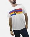 """T-shirt """"drapeau"""" signature JC De Castelbajac"""