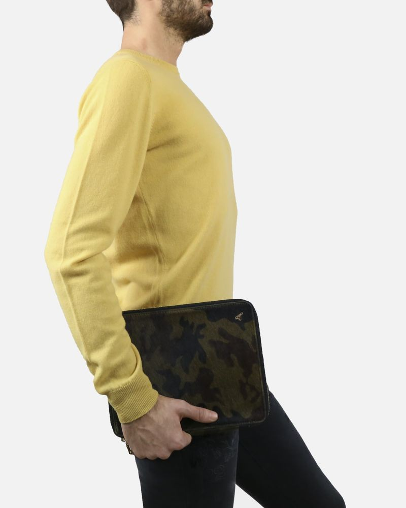 Pull jaune col rond Panicale Cashmere