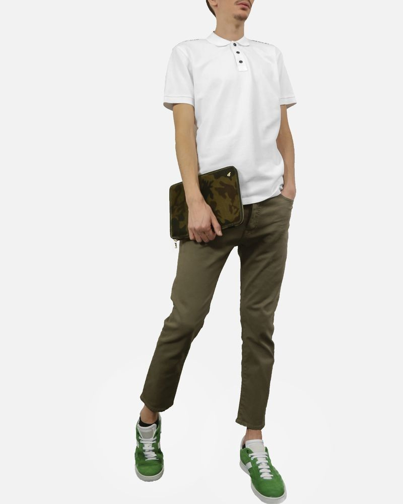 Jean en coton beige Low Brand