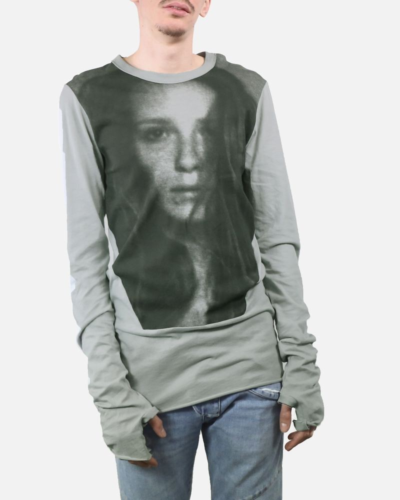 T-shirt long photo femme Lost & Found
