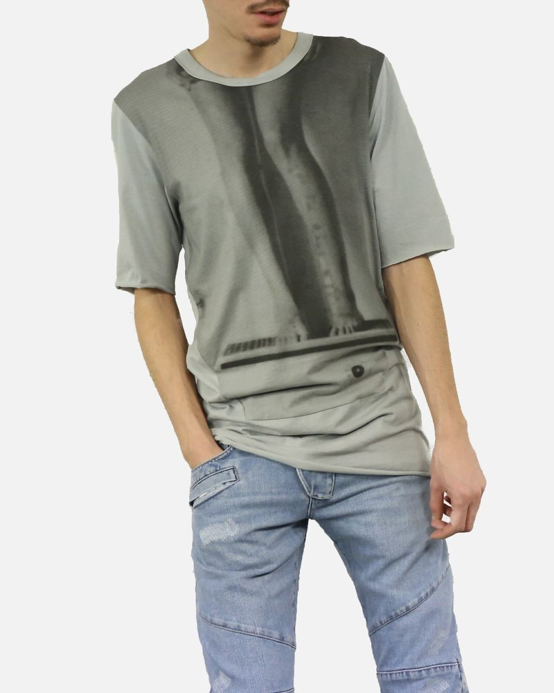 T-shirt long photo jambes Lost & Found