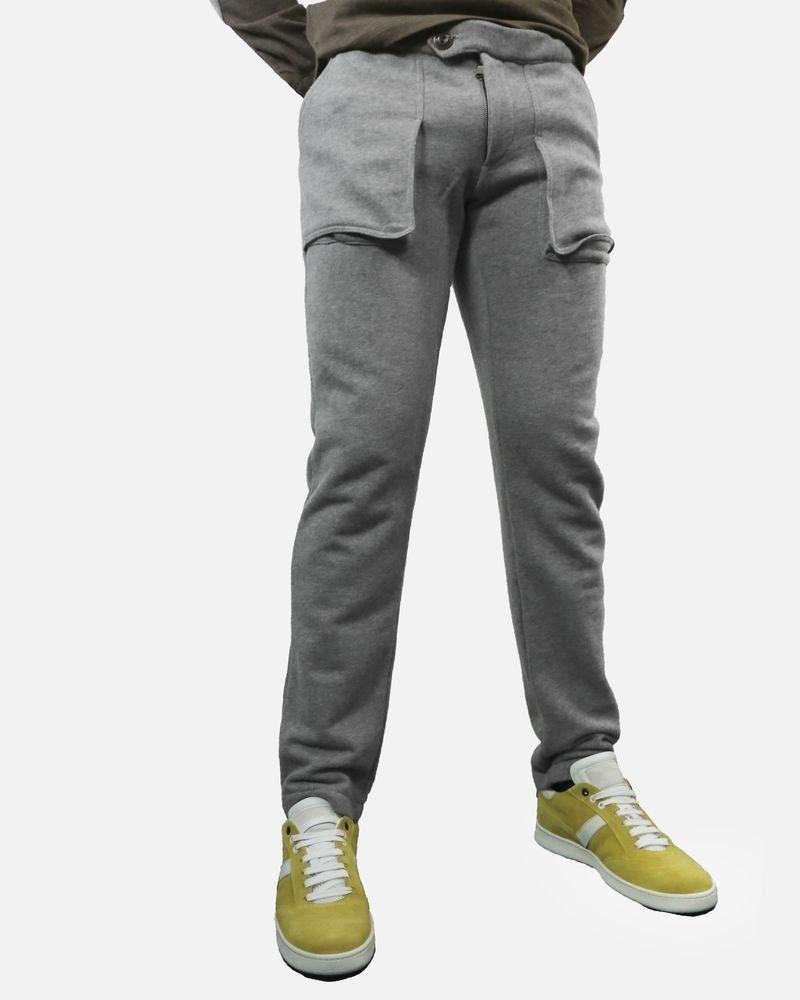 Survêtement en coton gris Soho