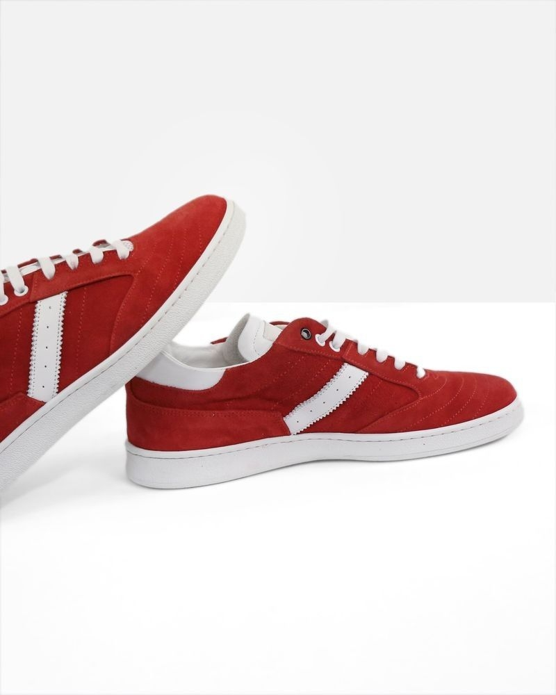 Basket rouge Low Brand