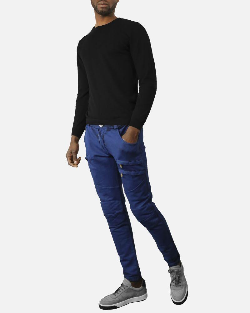 Jogging en coton bleu Pierre Balmain