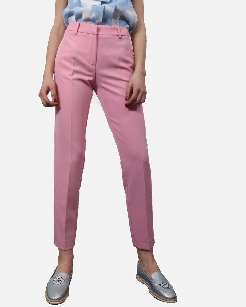 Pantalon à plis cassé rose Space Style Concept