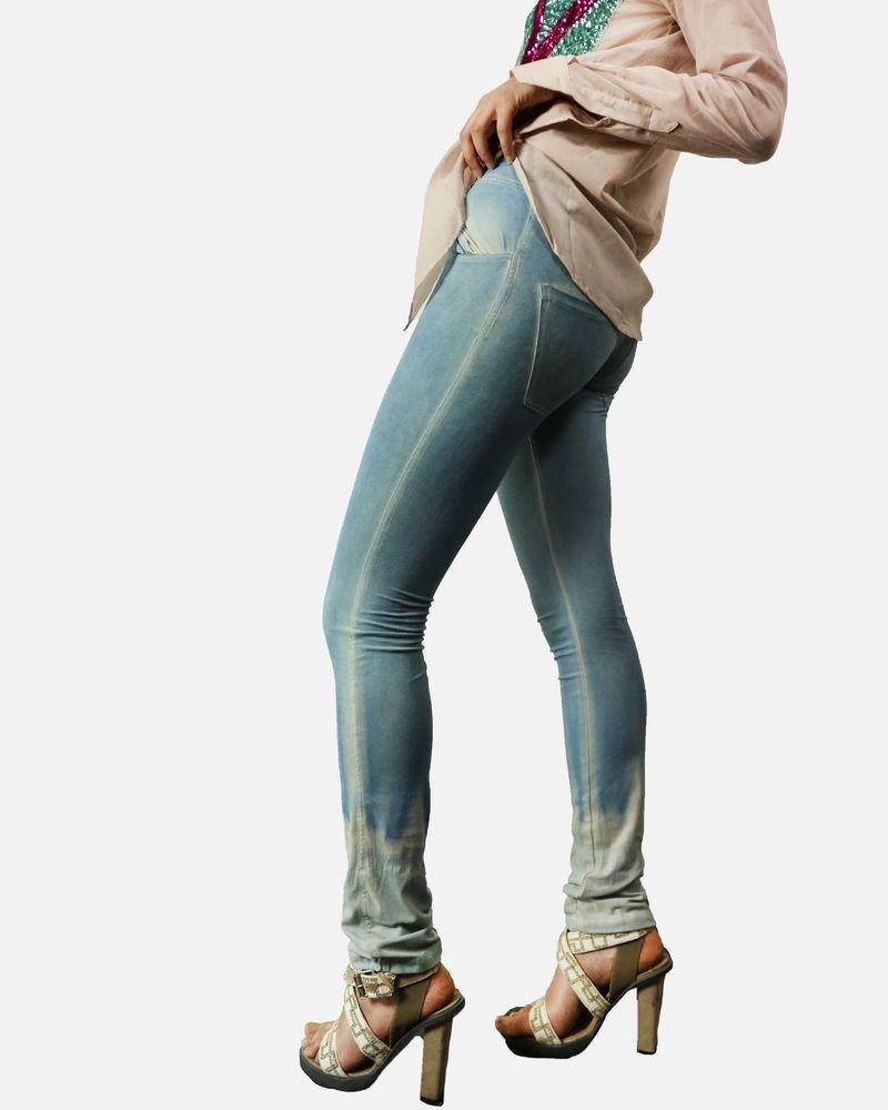 Pantalon délavé bleu Phisique Du Role