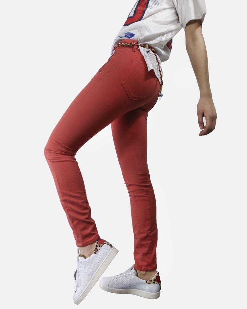 Jean rouge Karl Lagerfeld Femme