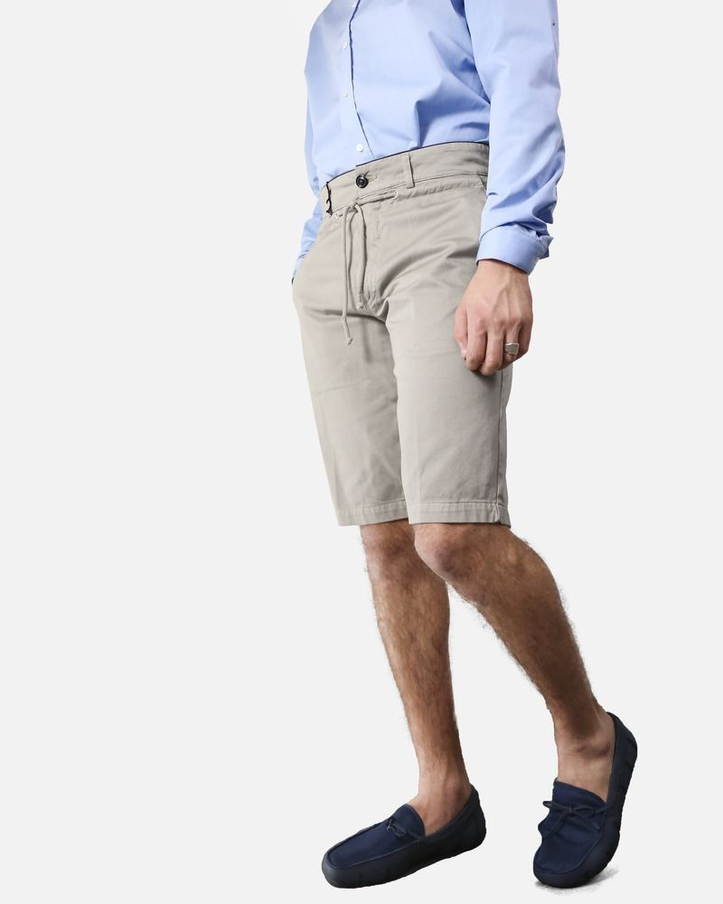 Bermuda chino beige en coton Department 5 Homme