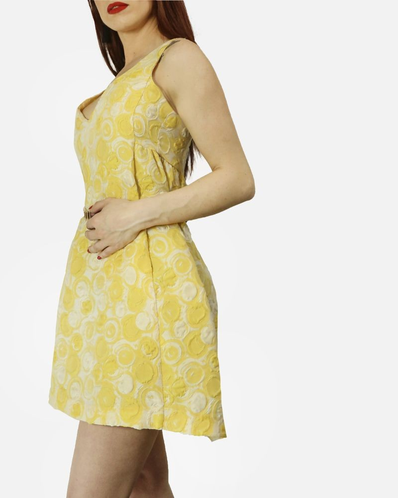 Robe sans manche jaune Space New Co