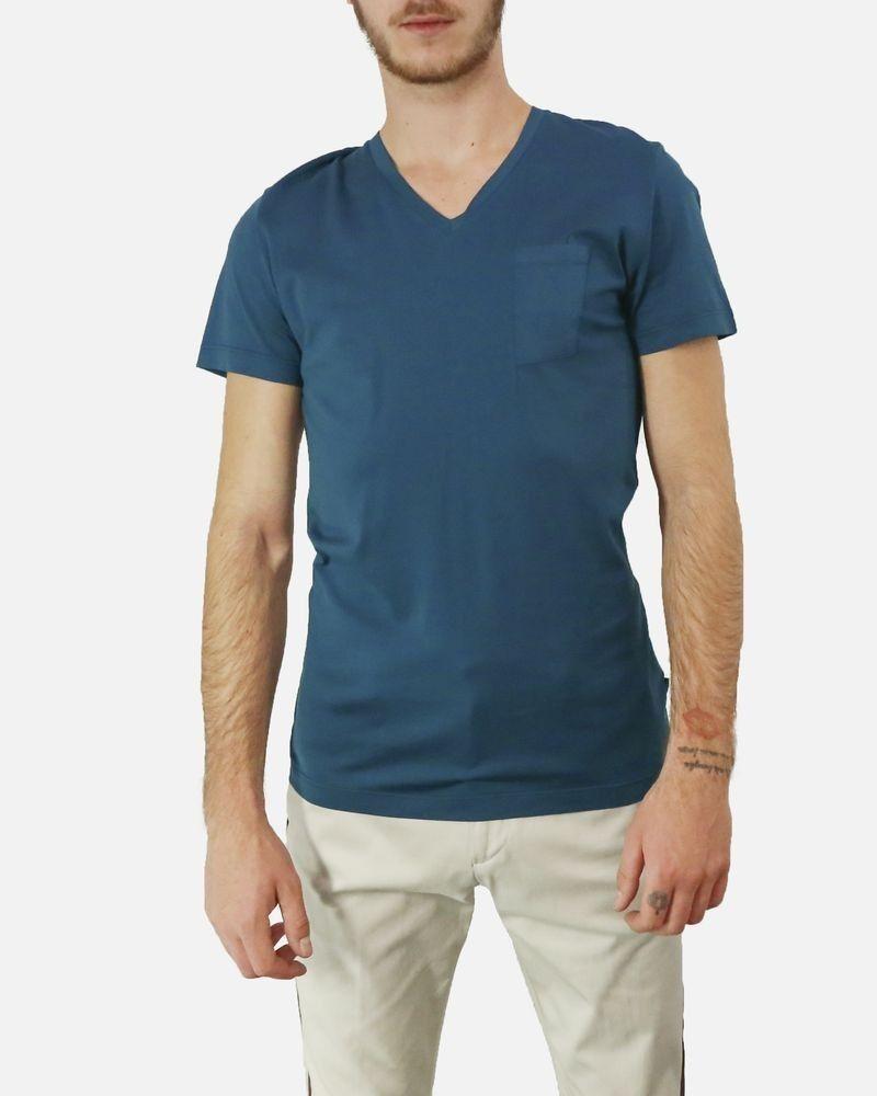T-Shirt bleu canard Low Brand