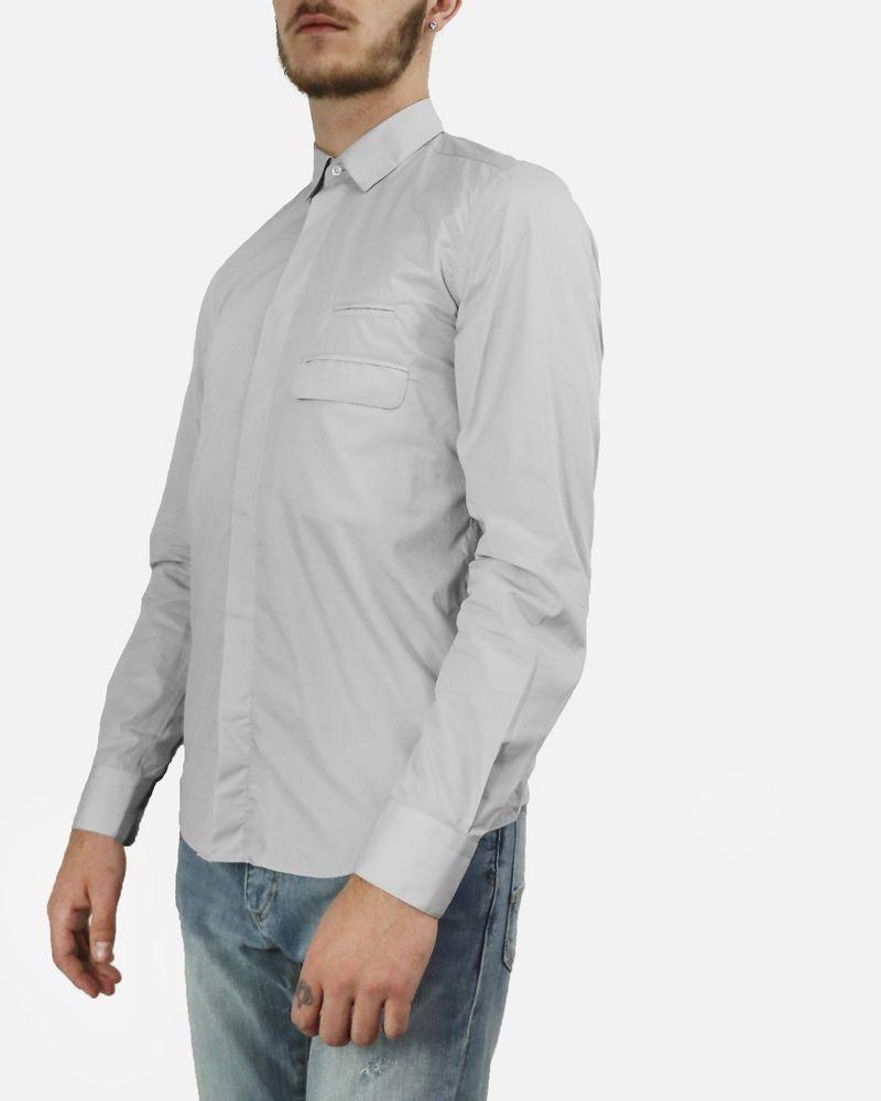 Chemise gris à poches fantaisie Low Brand