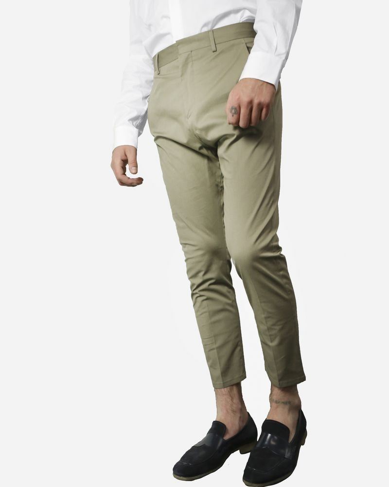 Pantalon beige Low Brand