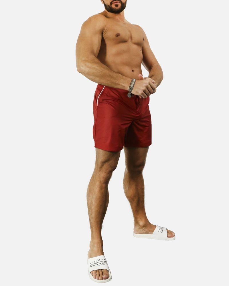 a40fc6bc0f ... Short de bain rouge Robinson Les Bains