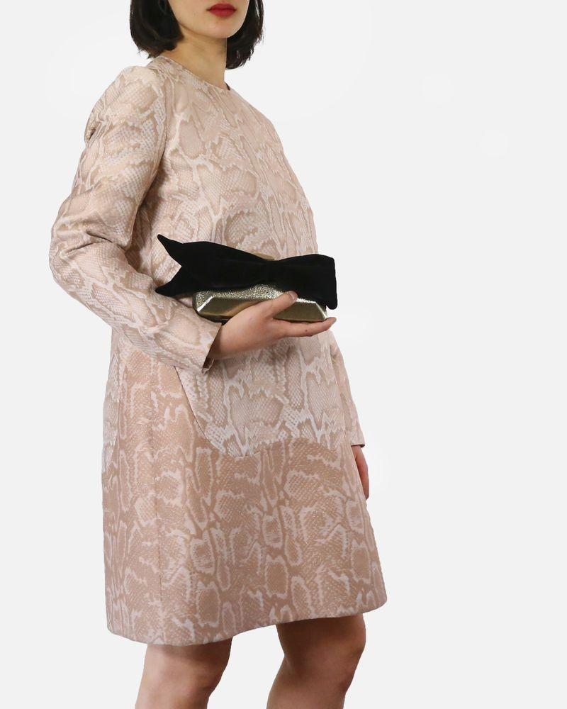 Robe beige à motifs Stella McCartney
