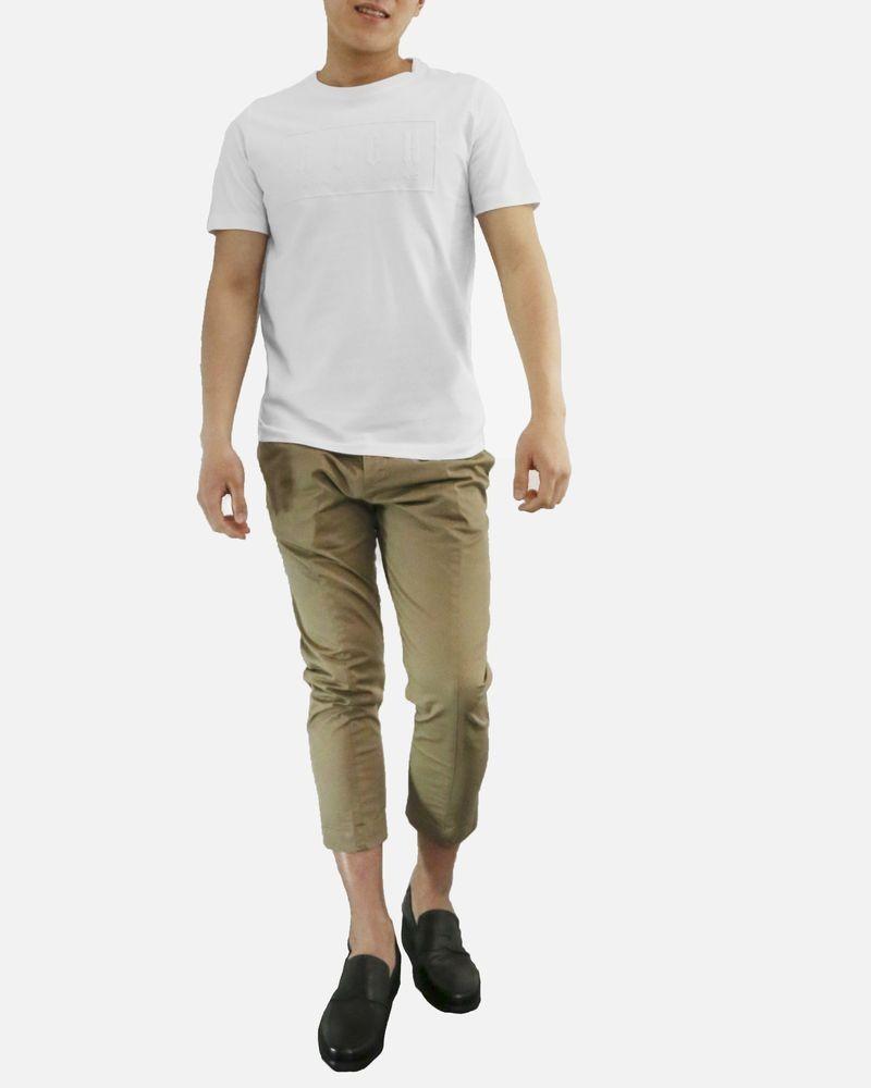 T-Shirt en coton blanc John Richmond
