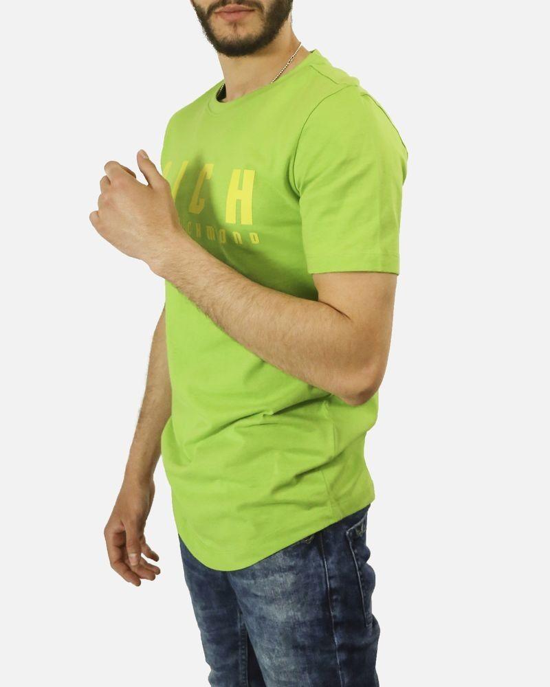 T-Shirt vert warrior John Richmond