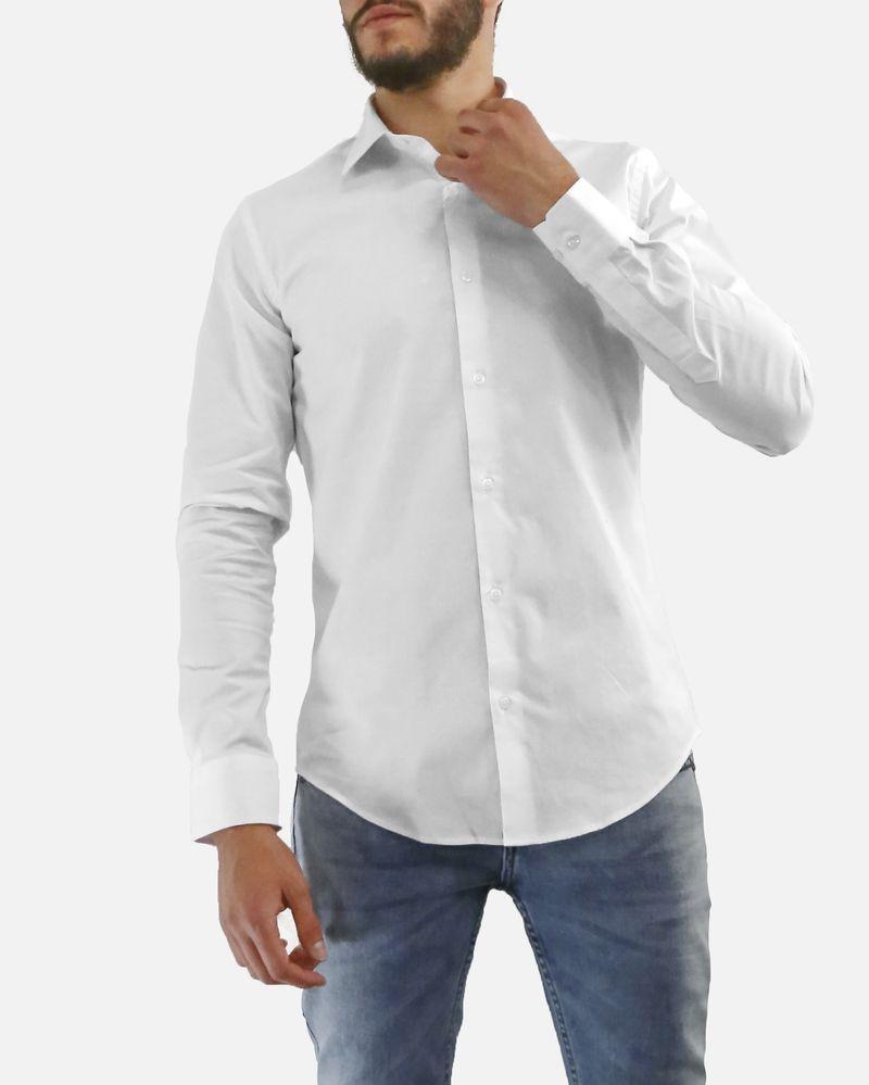 Chemise en coton blanche Chrom