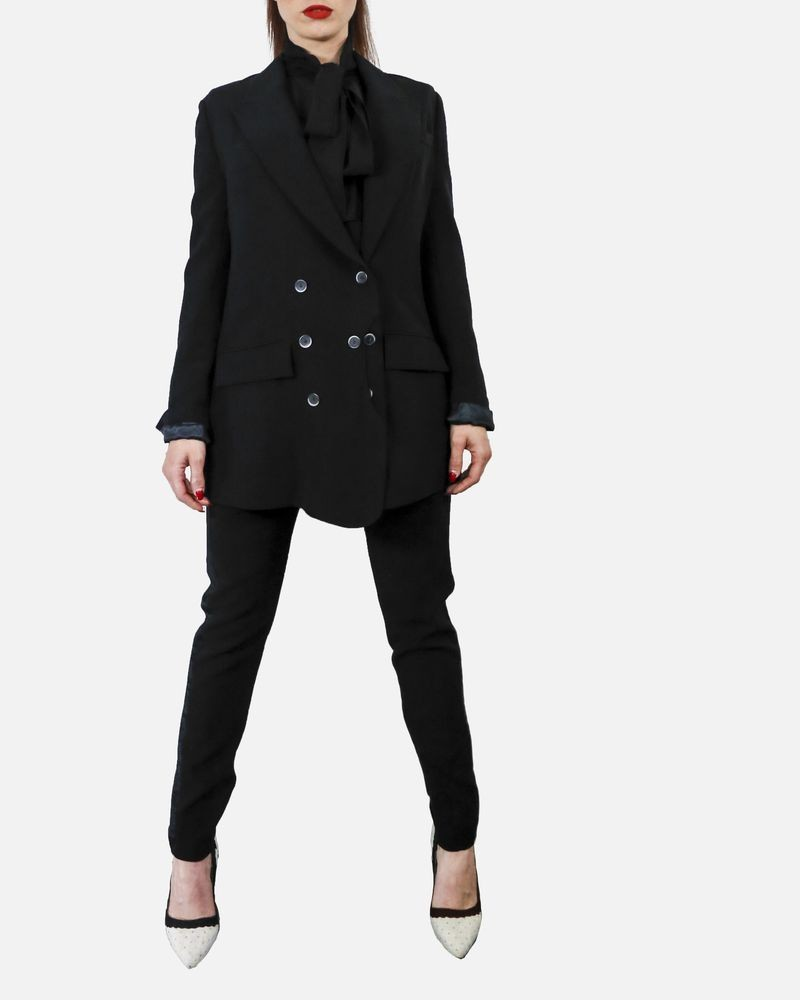 Blazer noir croisé Dolce & Gabbana