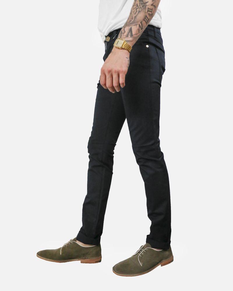 Pantalon skinny bleu Frankie Morello